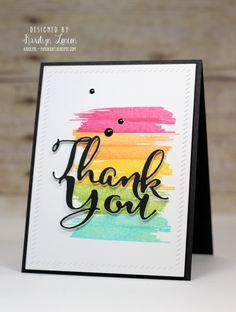 rainbow thank you 9 Ideas for Easy Homemade Thank You Cards Thank U Cards, Handmade Thank You Cards, Greeting Cards Handmade, Teacher Cards, Diy Cards For Teachers, Creative Cards, Cute Cards, Your Cards, Cards Diy