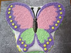 butterfly cake decorating | party ideas | Pinterest | Fairy Cakes ...