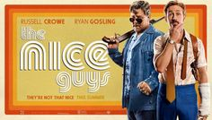 """A retro trailer for """"The Nice Guys"""" has just hit iTunes and reflects the decade the movie is set in. Action Movies, Hd Movies, 2017 Movies, Films, Russell Crowe Ryan Gosling, Jackson, Cop Show, Cinema, Dvd Blu Ray"""