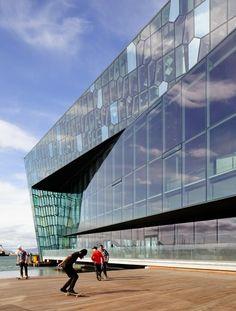 Harpa Concert Hall Reykjavik • Iceland By Henning Larsen Architects & Olafur Eliasson Photos by Pedro Kok