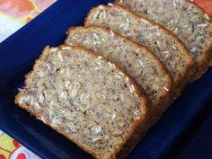 Low fat oatmeal banana bread