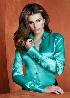 Satin Blouse http://sexotic-city.com/xsexy/get-spliced/ | #Satin #Silk #Blouse |