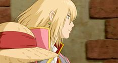 Howl's Moving Castle, Howl when he meets Sophie and is trying to protect her