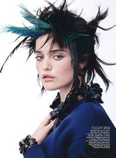 Sky Ferreira in Teen Vogue