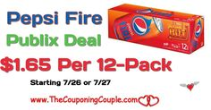 Pepsi Fire 12-Packs Only $1.65 @ Publix starting 7/26 or 7/27. PRINT Coupons NOW to hold for this upcoming deal folks. They will go fast **  Click the link below to get all of the details ► http://www.thecouponingcouple.com/pepsi-fire-12-packs-only-1-65-publix-starting-726-or-727/ #Coupons #Couponing #CouponCommunity  Visit us at http://www.thecouponingcouple.com for more great posts!