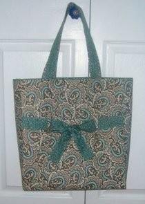 DIY School lunch bag: DIY Re Reinforce Your Grocery Tote Bag