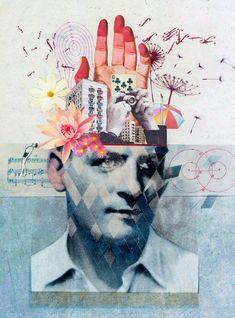 Martin O'Neill, Traditional Collage Artist | Threeinabox.com