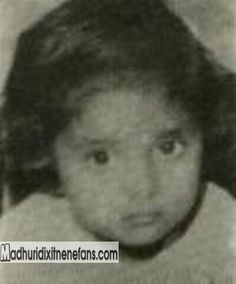 Madhuri Dixit 's childhood pic Unseen for me