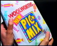 Pic'n'mix from Woolworths got its own television advertisement when the range was relaunched in the early 1990s - no trip to the pictures went without a woolworths pic n mix