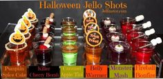 Happy Halloween from your fiends at The Jellinator! Let's not scare away our party ghosts with scary-tasting jello shots. Let's give them treats, not tricks Halloween Cocktails, Halloween Desserts, Halloween Tags, Shots Halloween, Halloween Food For Party, Halloween Birthday, Halloween Jelly, Halloween Drinking Games, Halloween Jello Shooters