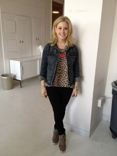 SFH Stylist, Samantha Brown at the @Westfield W Style FW 2012 magazine shoot wearing jacket by J.Crew, top by Rory Beca, jeans by Rag & Bone, & shoes by Steve Madden