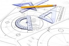 Engineering drawing equipmentEngineering drawing equipmentEngineering drawing equipment Stock Photo