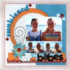 Sunkissed Beach Babes - Scrapjazz.com  LOVE THIS~