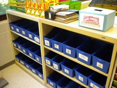 We were excited to see a Box Tops collection box in the corner of this classroom picture! Box Tops in action!