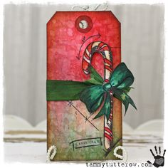 tammy tutterow | Blueprint Candy Cane Tag http://tammytutterow.com/2013/09/candy-cane-blueprint-tag/