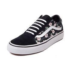 Vans Old Skool Vintage Floral Skate Shoe