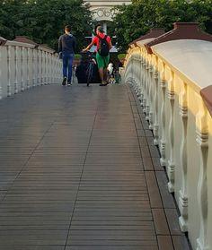 bridge, crossing, poetry