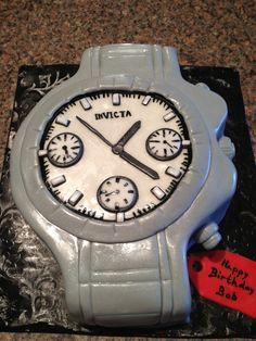 Invicta Watch Cake Sweet Treats By Cherie Birthday