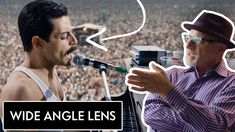"""Cinematographer Newton Thomas Sigel takes us through the differences between wide-angle, normal and telephoto lenses. He explains the science of each lens using examples from """"Bohemian Rhapsody,"""" """"Drive"""" and """"Three Kings"""". Film Studies, Editing Writing, Film School, Video Capture, Wide Angle Lens, Guerrilla, Best Photographers, Camera Lens, Vanity Fair"""