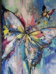 ilk kelebek tablom
