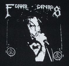 Flower Leppers Patch $1.45 #punk #music #punkpatches #clothing www.drstrange.com