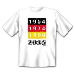 """Tolle Fanartikel zur WM2014, wie """"Fan T-Shirt zur WM Party 2014 Fußball Deutschland Fanartikel mit Motiv 1954 1974 1990 Weltmeister 2014 : )"""" jetzt hier anschauen: http://fussball-fanartikel.einfach-kaufen.net/t-shirts-tops/fan-t-shirt-zur-wm-party-2014-fussball-deutschland-fanartikel-mit-motiv-1954-1974-1990-weltmeister-2014/"""