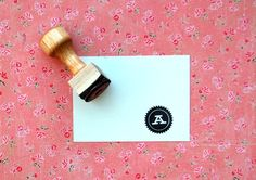 initi rubber, idea, crafti, monogram rubber, initi stamp