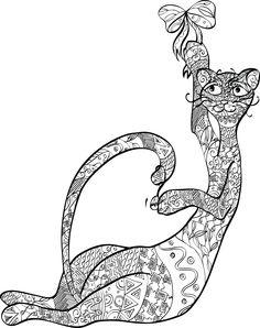 Оригинал кошка Окраска много причин