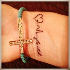 Love, life, faith tattoo .... really want this
