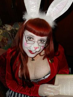 My costume this year - The White Rabbit from Alice in Wonderland