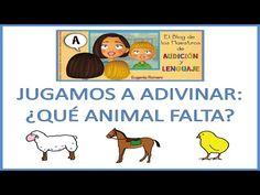 EL BLOG DE L@S MAESTR@S DE AUDICION Y LENGUAJE: VIDEO JUGAMOS A ADIVINAR ¿QUÉ ANIMAL FALTA?