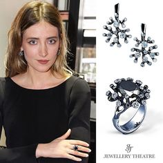 "Diana Dimitrovici, a beautiful and very talented up and coming actress, chose to wear this Jewellery Theatre Corals set last night, while attending the London premiere of her new film called ""Criminal"", starring Ryan Reynolds, Kevin Costner, Gary Oldman and Tommy Lee Jones.  #jewellerytheatre"