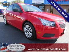 2014 CHEVROLET CRUZE -- SUPER CLEAN 1-OWNER With ONLY 52,560 MILES! -- Up To 36 MPG! -- CLEAN CAR-FAX! -- CALL TODAY! * 757-424-6404 * FINANCING AVAILABLE! -- Courtesy Auto Sales SPECIALIZES In Providing You With The BEST PRICE On A USED CAR, TRUCK or SUV! -- Get APPROVED TODAY @ courtesyautosales.com * Proudly Serving Your USED CAR NEEDS In Chesapeake, Virginia Beach, Norfolk, Portsmouth, Suffolk, Hampton Roads, Richmond, And ALL Of  Virginia SINCE 1976!