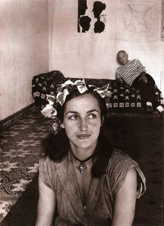 Francoise Gilot and Picasso. S)✖️More Pins Like This One At FOSTERGINGER @ Pinterest✖️