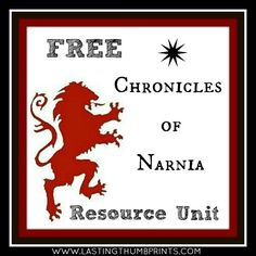 Free Chronicles of Narnia Resources for Your Homeschool ~ freehomeschooldeals.com