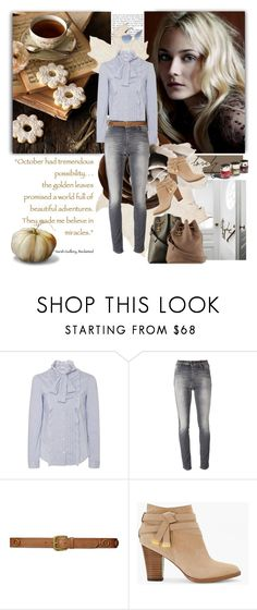 """October's Possibilities"" by jacque-reid ❤ liked on Polyvore featuring RED Valentino, Closed, Lauren Ralph Lauren, White House Black Market, Garance Doré and Miu Miu"