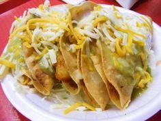 Tasty Crispy Potato Rajas Tacos #homemade #potato #taco