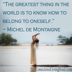 Michel De Montaigne, Whisper, Wisdom, Inspirational, World, Beach, Quotes, Life, Hush Hush