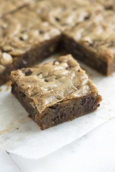 No-Fail Blondies Recipe from www.inspiredtaste.net #dessert #recipe