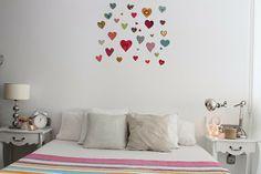 Boho Deco Chic: Por fin le toca al dormitorio - Bedroom in progress Nice stickers!