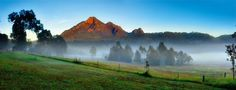 Mt Barney Lodge- Scenic Rim, Wilderness Camping, Eco Accommodation and Adventure Activities for Groups, Families and Couples in South East Queensland Queenslander, Best Resorts, Adventure Activities, Go Camping, Lodges, Wilderness, Places To Go, Photo Galleries, Sunrise
