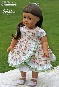 Sweet Innocence for 18 dolls American girl by mytreasuredheirlooms Pattern to download off of Etsy 4.00