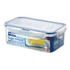Lock & Lock HPL956 Boîte spécifique à Beurre Etanche à 100% à l'air et aux liquides Compatible micro-ondes/ Congélateur / Lave Vaisselle:…