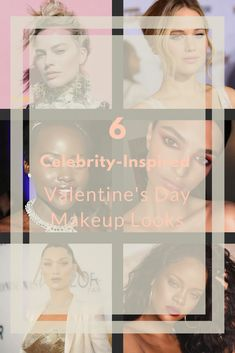 6 Celebrity-Inspired Valentine's Day Makeup Looks  Whether you've got a partner in your life or you're single and living it up, finding the right makeup�look for Valentine's Day will keep you feeling fresh and looking beautiful. Below, we've compiled a list of some of our favourite makeup tips and tutorials for your Valentine's Day makeup�look, based on the latest in makeup trends.