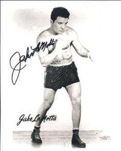 """Jake Lamotta World Champion 8x10 Signed Photo JSA COA . $30.00. Middleweight World Champion (1949),Jake LaMottaHand Signed 8x10"""" Black and White PhotoJake was known as the first man to defeat Sugar Ray Robinson and the movie Raging Bull was about his life .GREAT AUTHENTIC BOXING COLLECTIBLE!! .AUTOGRAPH AUTHENTICATED BY JSA AUTHENTICATIONS WITH NUMBERED JSA AUTHENTICATION STICKER ON ITEM AND MATCHING NUMBERED JSA CERTIFICATE OF AUTHENTICITY (COA) INCLUDED.JSACOA:"""