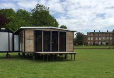 Prouvé House - test build, Newby Hall.