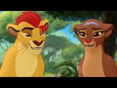 The Lion Guard - Kion and Rani falls in love! Lion King Meme, Lion King Series, The Lion King 1994, Lion King Fan Art, The Lion King Characters, Lion King Drawings, Wolf Spirit Animal, Le Roi Lion, Disney Lion King