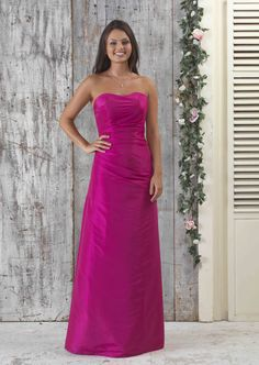 5004b381d6 One Shoulder Chiffon Crossover Front Bridesmaid Dress with Waterfall Skirt  Detail Front