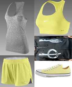 I work out so one day I will look cute working out in this!