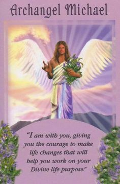Archangel Michael Angel Card Extended Description - Messages from Your Angels Oracle Cards by Doreen Virtue Doreen Virtue, Reiki, Angel Protector, Archangel Prayers, Angel Readings, Free Angel, Angel Guidance, I Believe In Angels, Angel Numbers